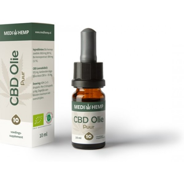 Medihemp CBD oil pure (10%) BIO - 10 ml