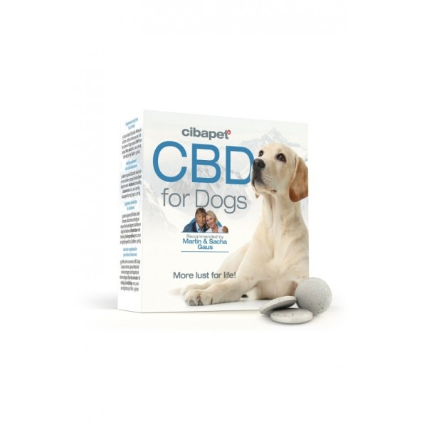 Cibapet CBD Pastilles For Dogs (55 tablets x 3.2mg CBD, total 176mg CBD)