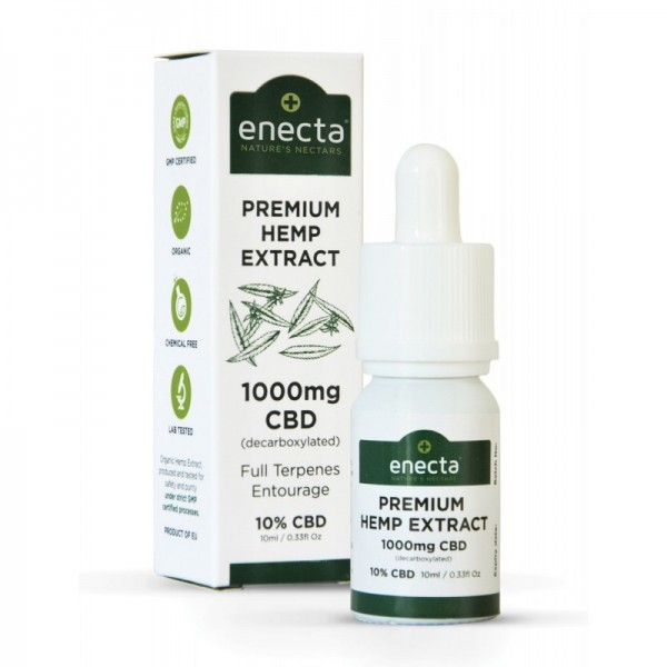 ENECTA PREMIUM CBD OIL 10ML 10% CBD