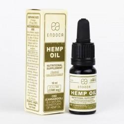 Endoca Hemp Oil Drops 1500mg CBD (Cannabidiol) (15%)