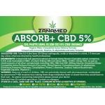 ZanaMed Absorb+ 5% CBD Oil Paste 500mg