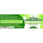 ZanaMed Absorb+ 2.5% CBD Spray
